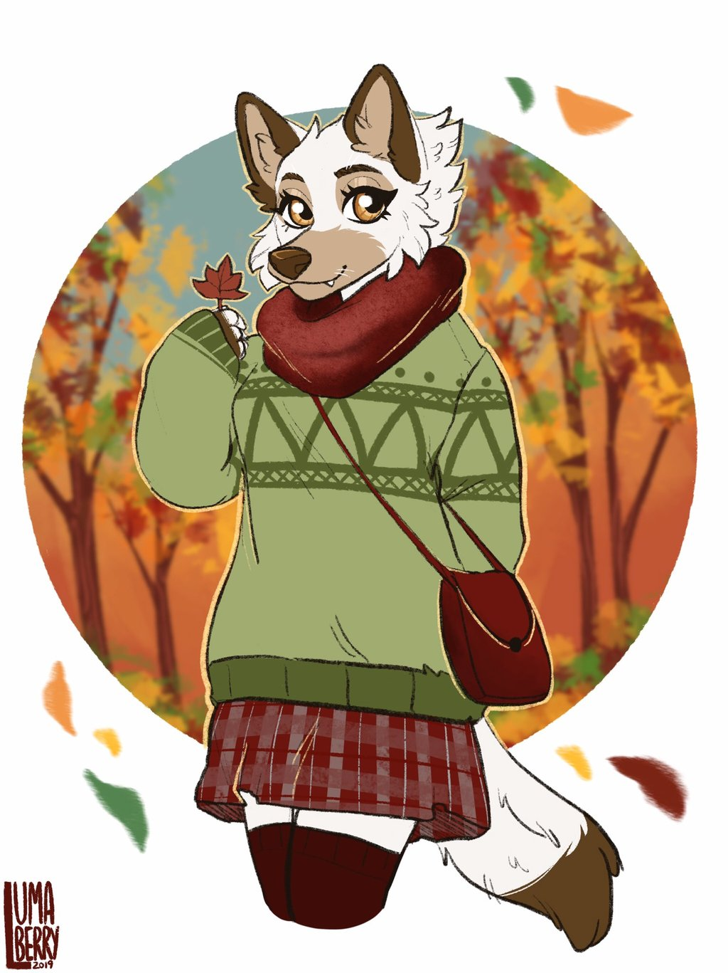 Winter Outfit by Lumaberry