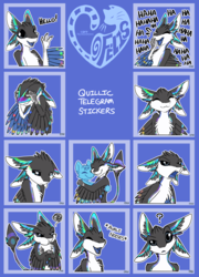 Quillic Telegram Stickers