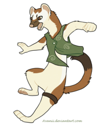 Commission: Sterlyn the Stoat
