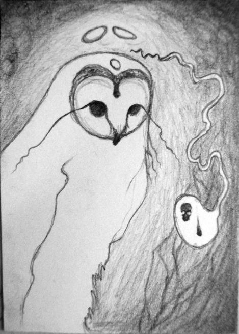 Art Card: The White Owl
