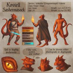 Koviell Sashermasock - Ref Sheet