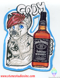 Cody Drink badge commish