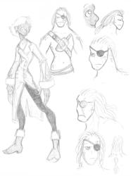 50 Fathoms Characters