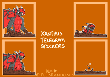 Xanthus Telegram Stickers