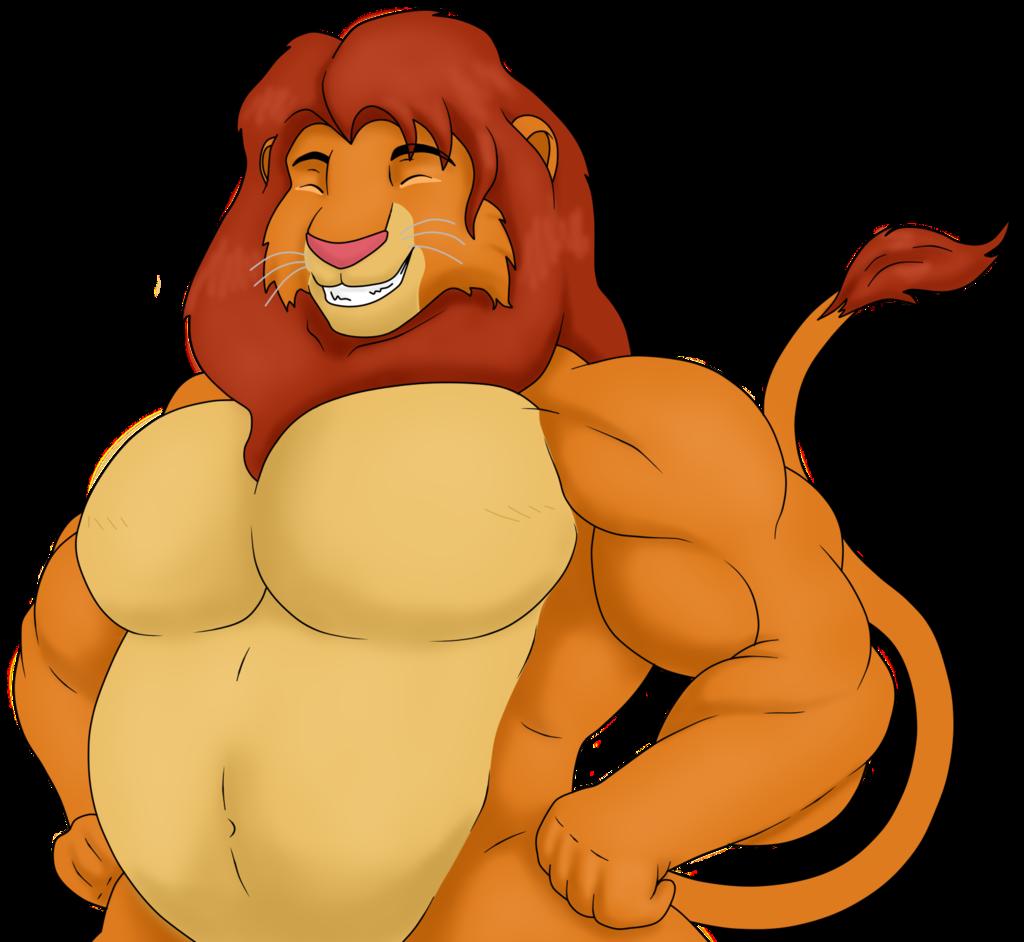 King Sized Simba