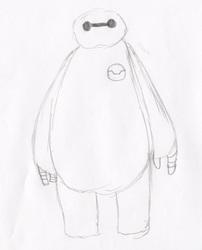 Baymax Quick Sketch