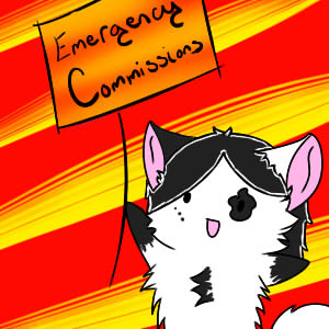 Most recent image: Emergency Commissions!