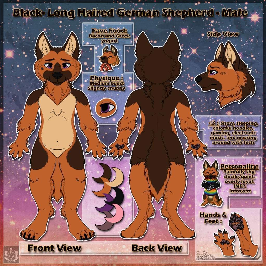 Black Reference Sheet Commission