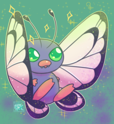 #012 Shiny Butterfree