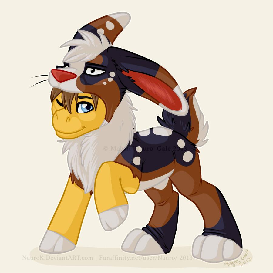 Pony in Rabbits Clothing