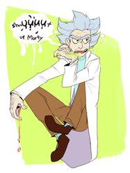 :RnM: Gross old man