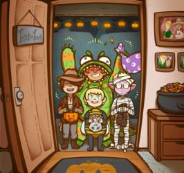 Space School Halloween 2015