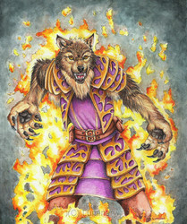 Werewolf Sorcerer