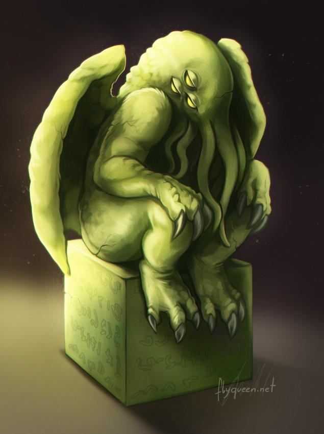 Cthulhu Statue