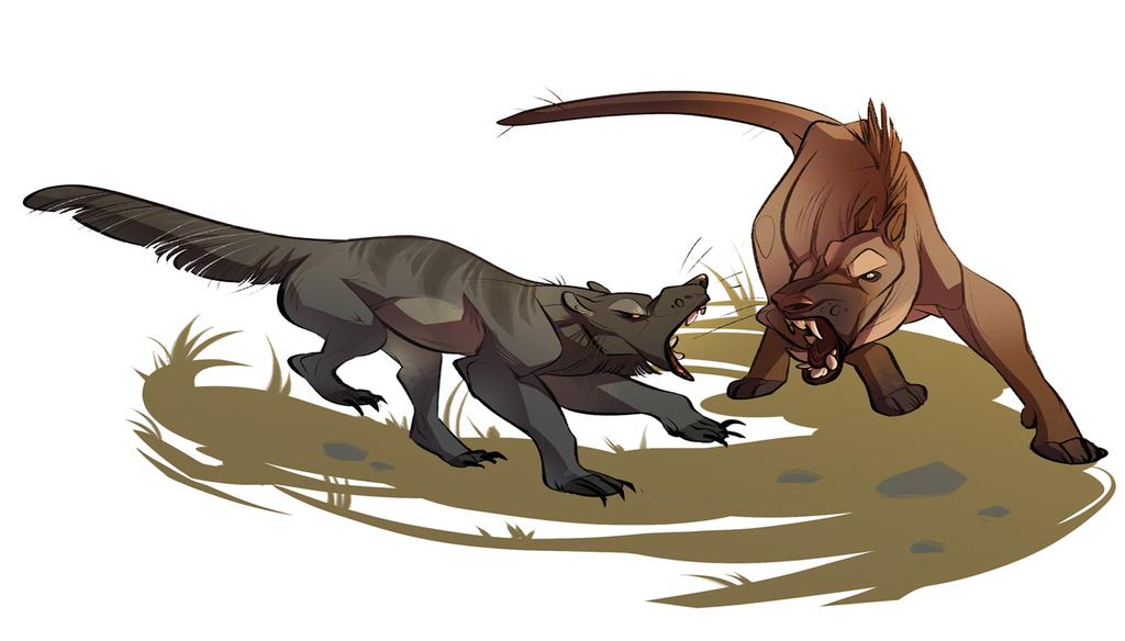 beardog vs hyenadon