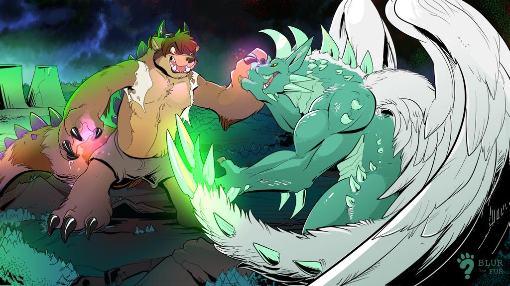 [C] Kaiju Fight!
