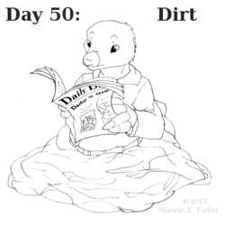 Daily Sketch 50 - Dirt