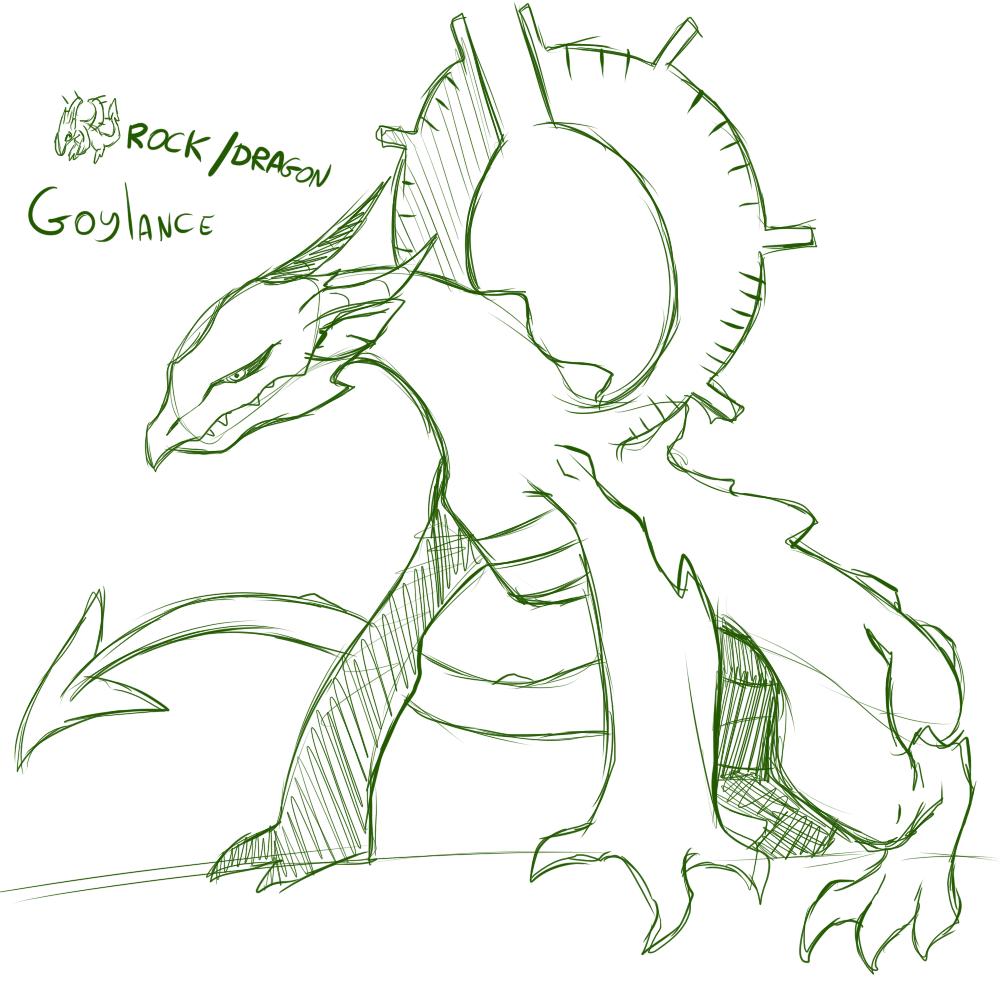 Fakemon: Goylance