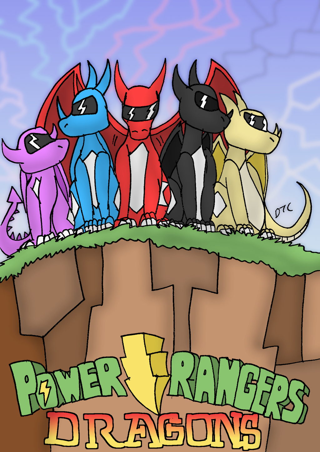 Most recent image: go go dragon rangers