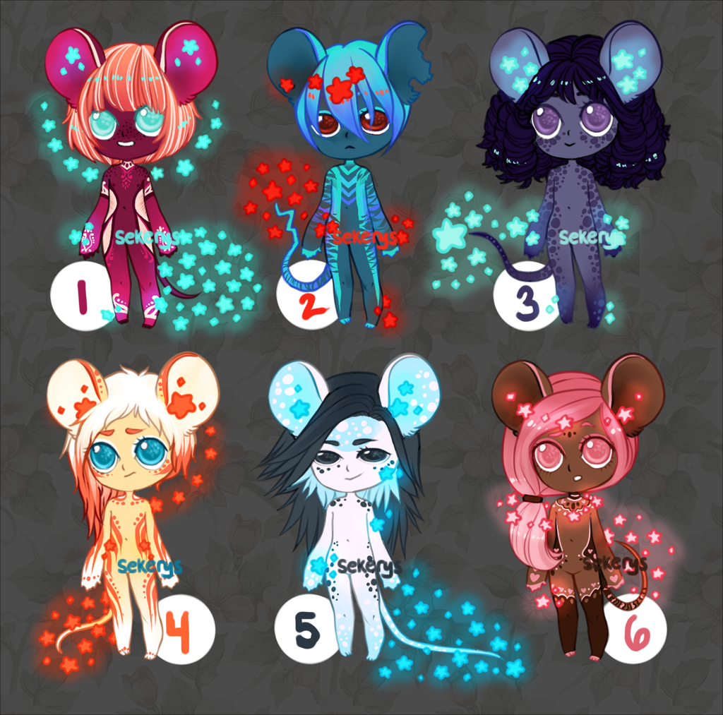 Most recent image: Starmouse Batch!