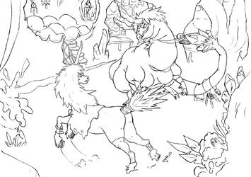 Unicorn vs. Dragon
