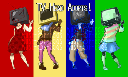 TV Head Adoptable Auction 1