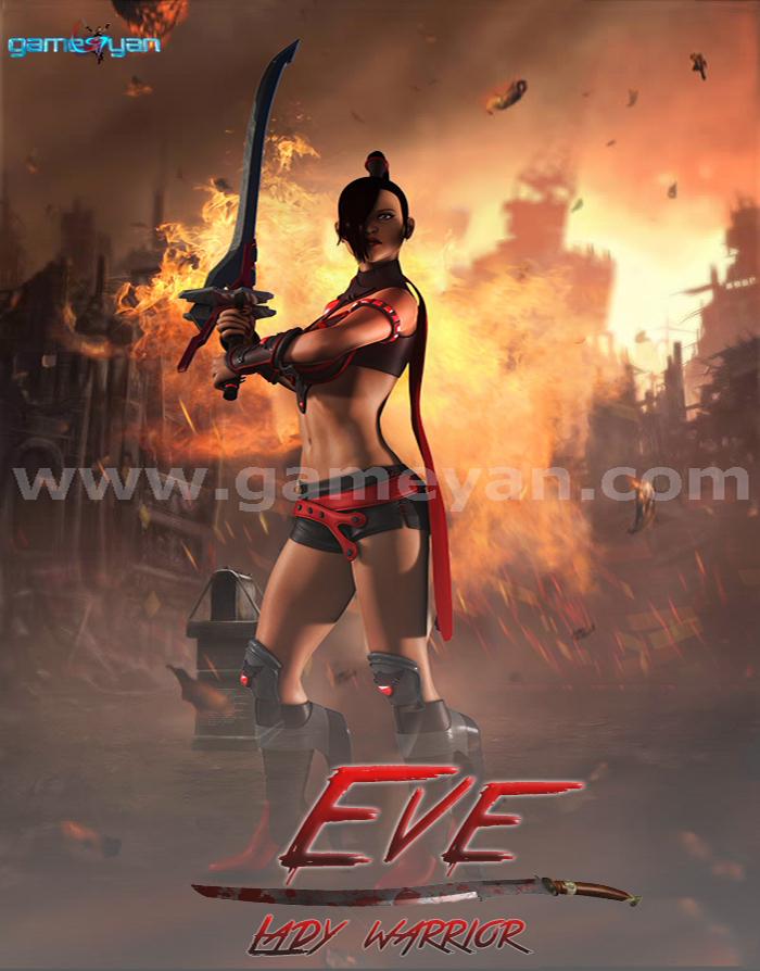 EVE - Lady Warrior By GameYan 3d Production HUB