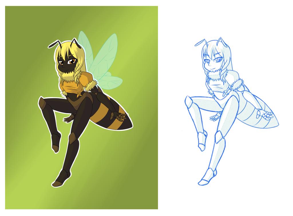 [Comm] Bee girl
