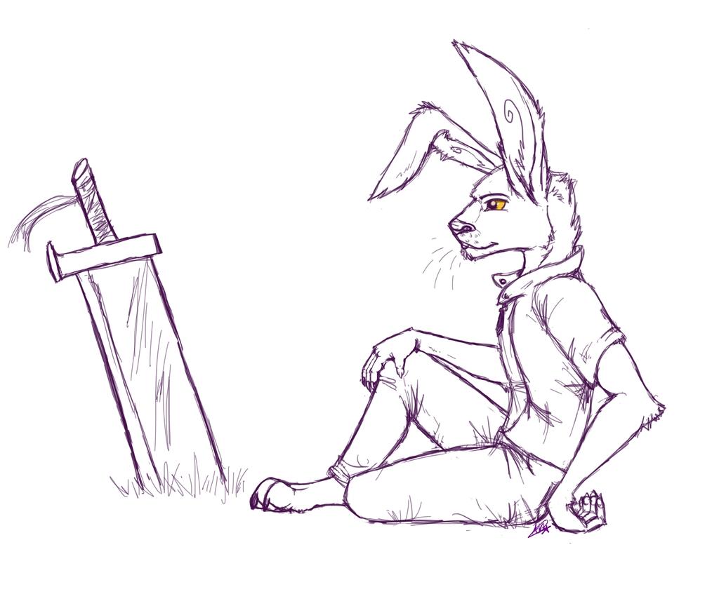 Resting (sketch request)