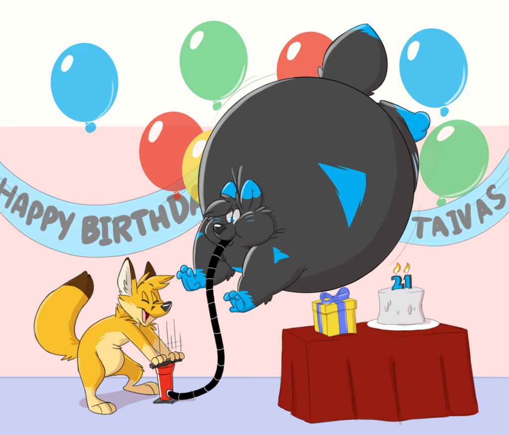 Birthday Puffs