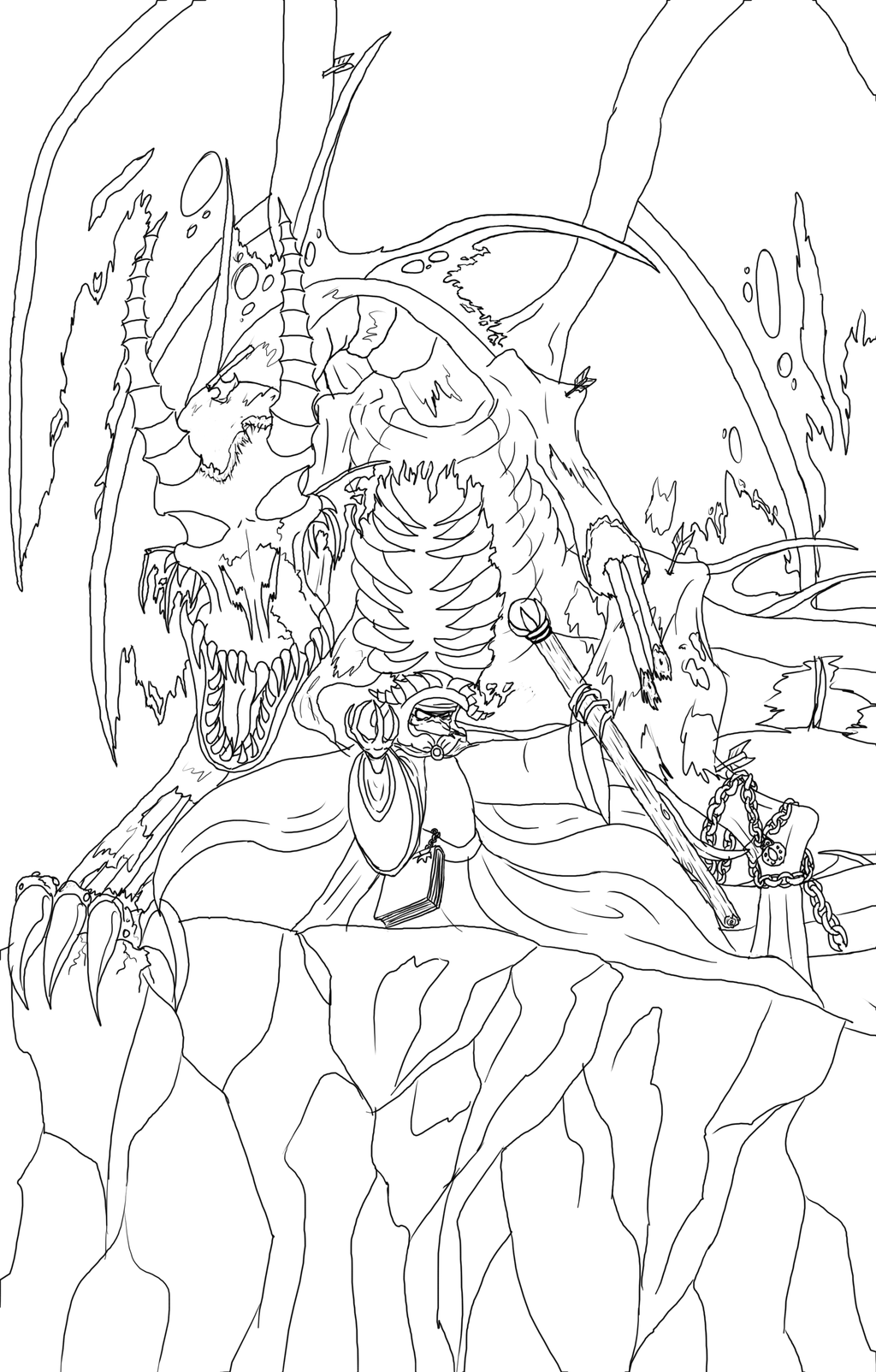 Most recent image: Raising the zombie dragon