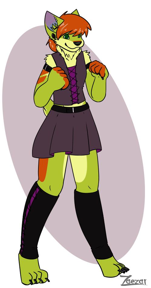 Wynn in a Skirt