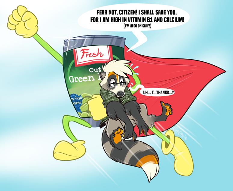 [commission] Captain Green Bean