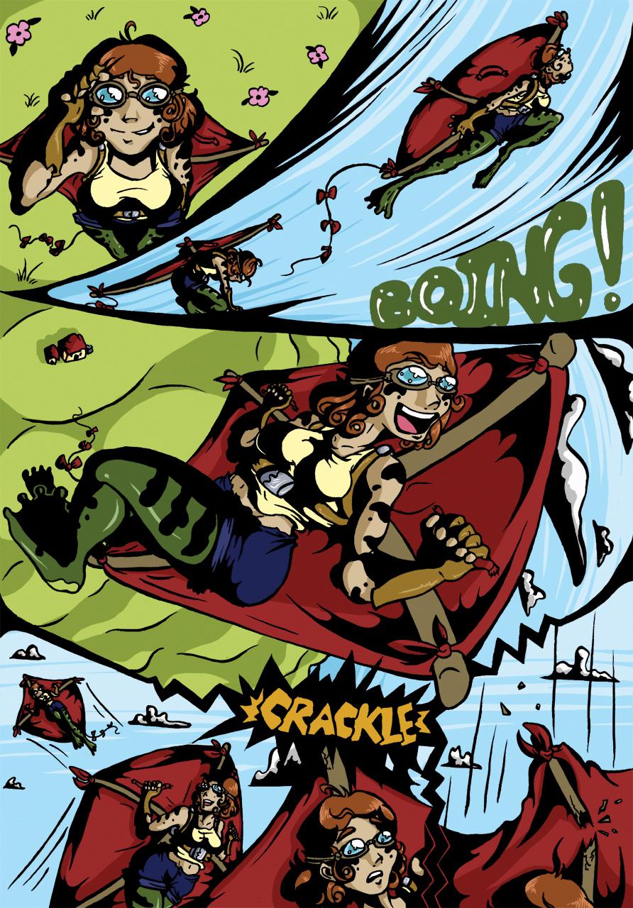 Frog-Legged Girl - Page 2