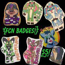 Last Call for FCN Badges!