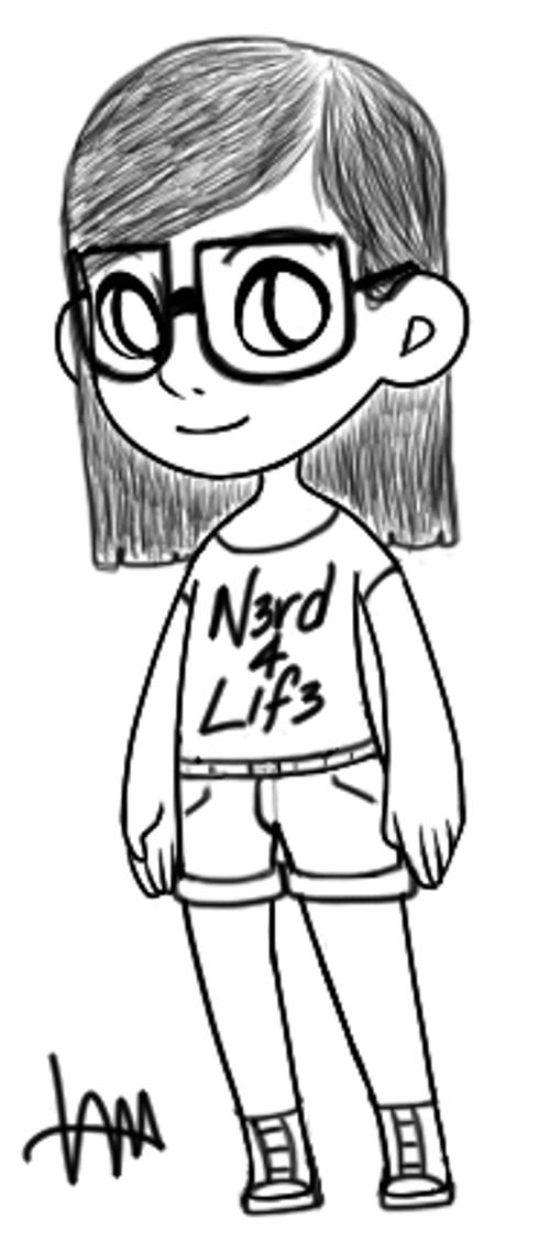Most recent image: nerdy lifer