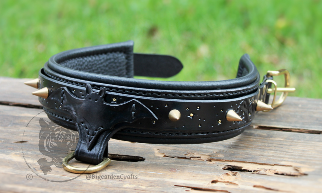 Knoxin's Spikes & Bats Collar