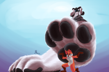 Right Under Paw [YCH]