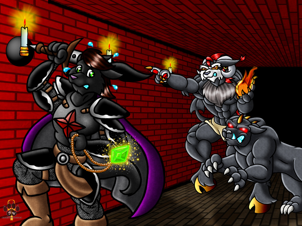 Most recent image: Stealing Tartarus Treasure, by Anubiiswerewolf