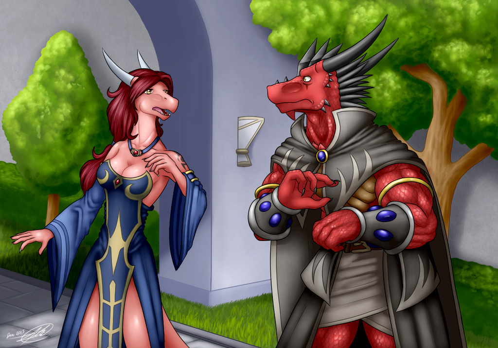 An Awkward Meeting
