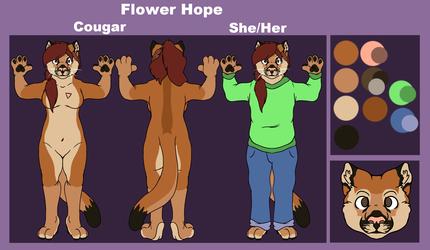 [C] Flower Hope Ref Sheet