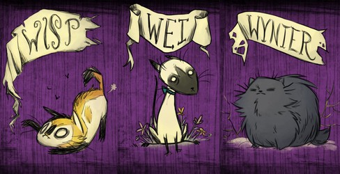Donn't Starve Kitty Characters Mod
