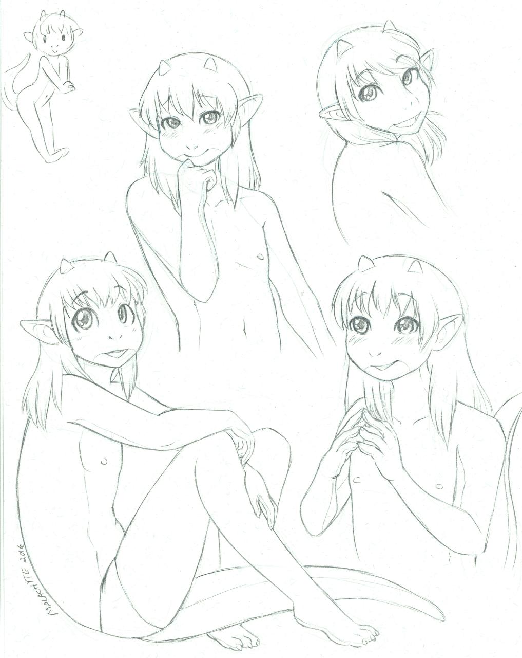 [AC Comm] Ramzyuu Sketch Page