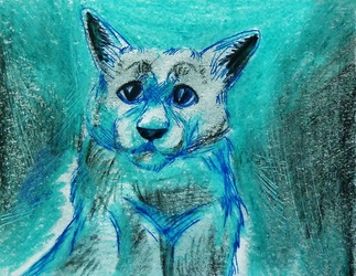 ACEO--Pooter Portrait--Cat Appreciable ^^