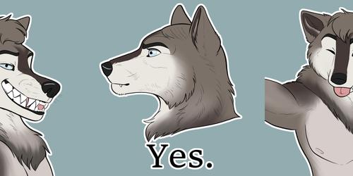 Adalwolff Stickers