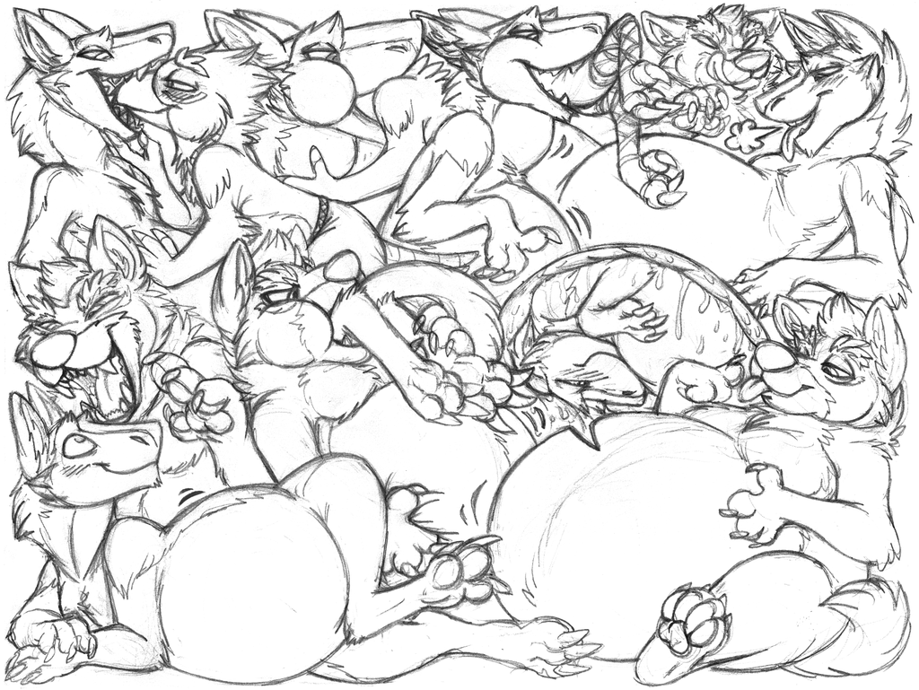 digitalhowl sketchpage commission (vore)