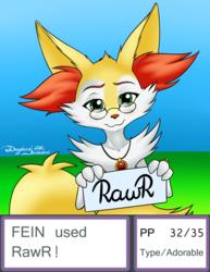 Gift: Fein used Rawr