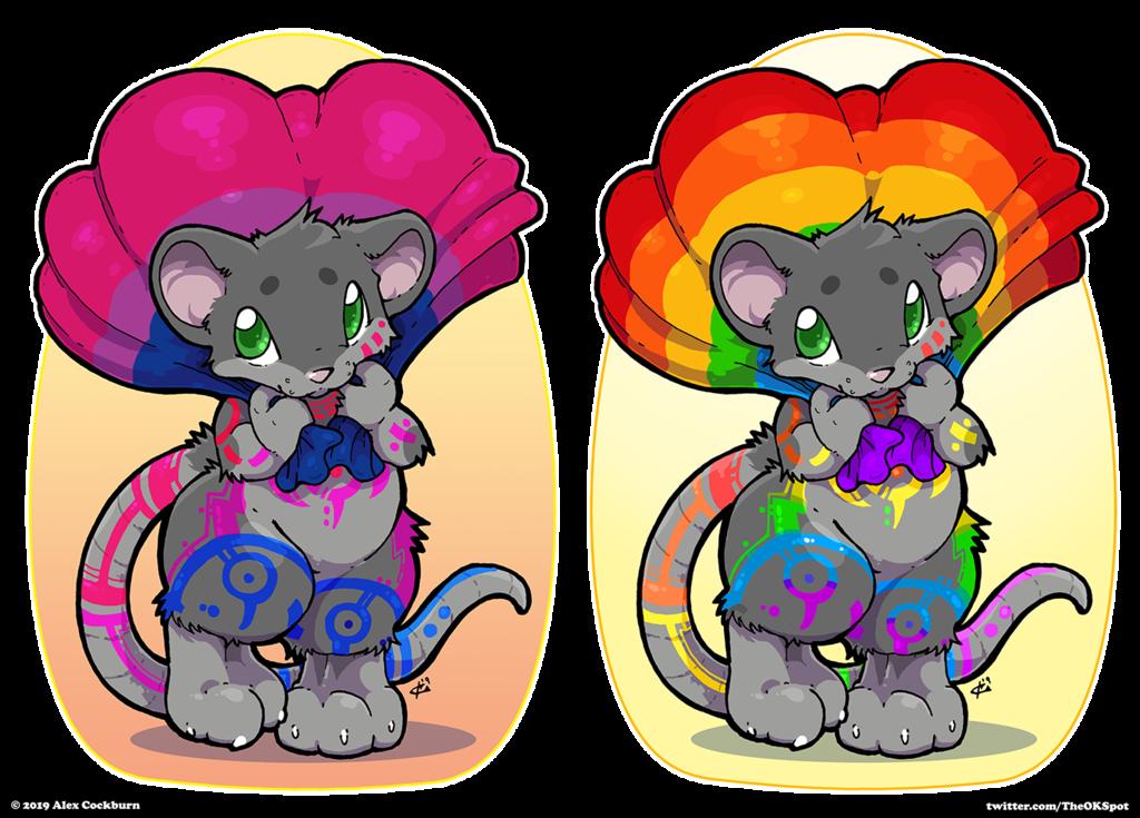 Chibi Pride (by o-kemono)