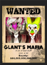 "[commission] Badge - Glant & Rak aka ""Glant's Mafia"""