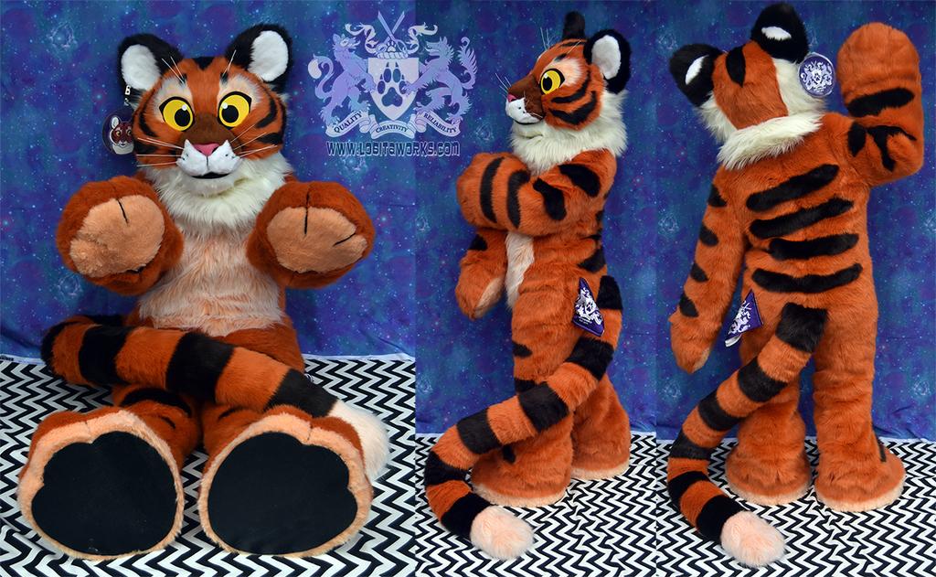 Plush Tiger Fursuit